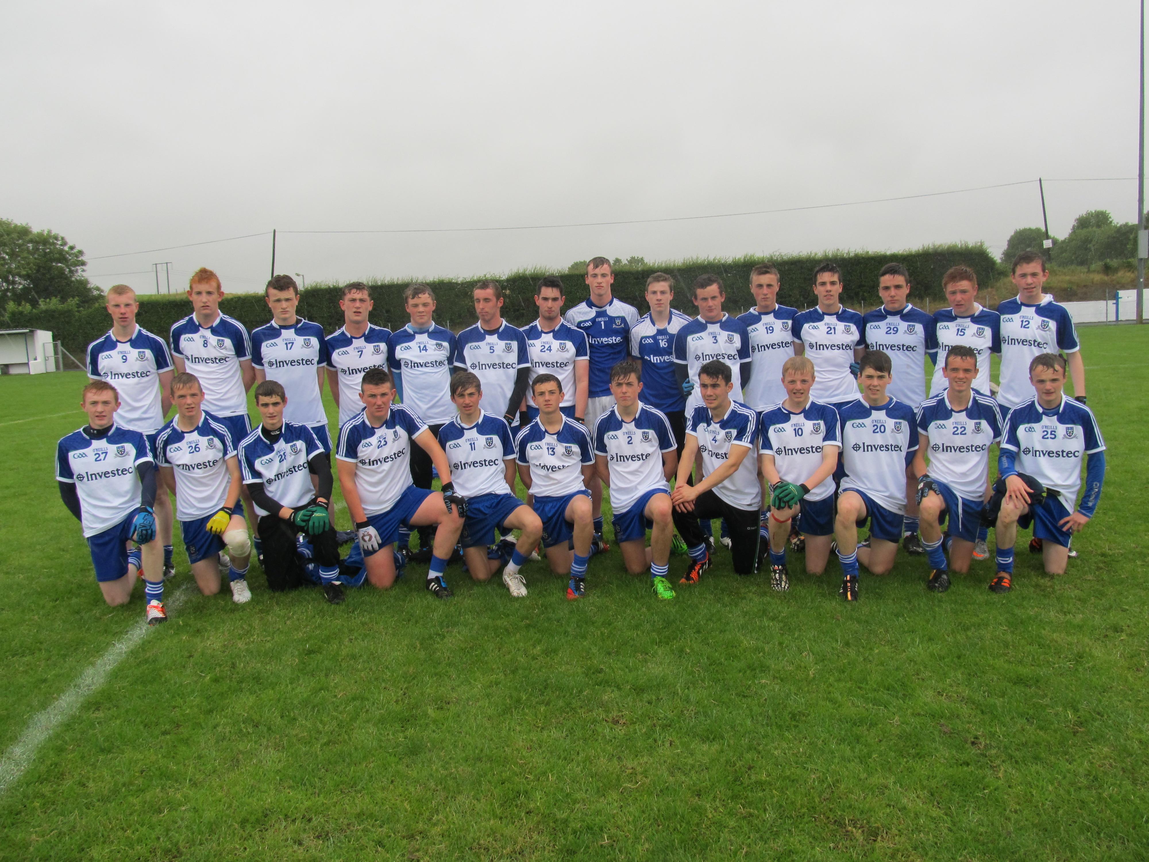 Monaghan U16 Development take Gerry Reilly Shield