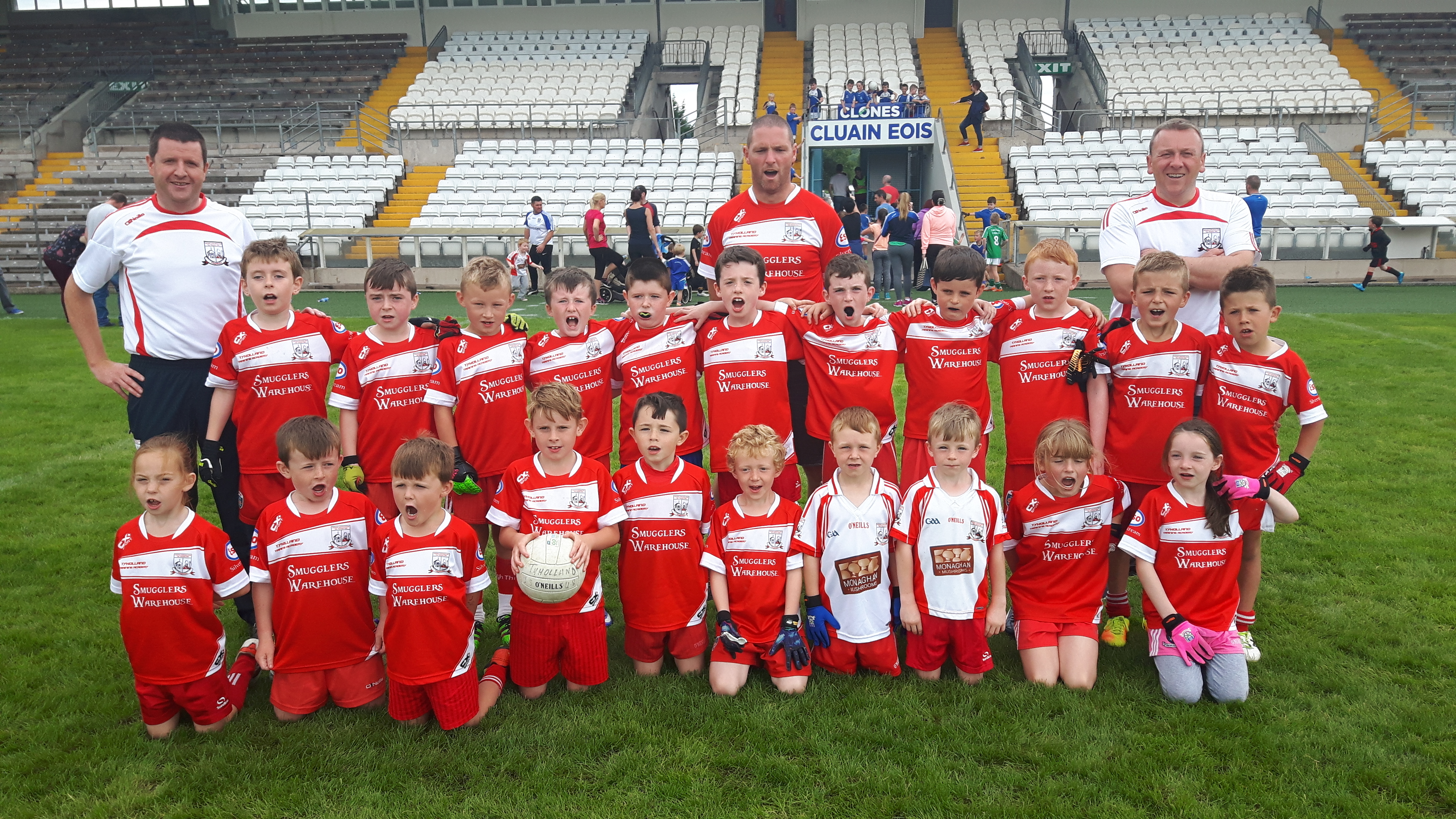 All County U8 Football GoGames blitz takes place in St Tiarnach's Park