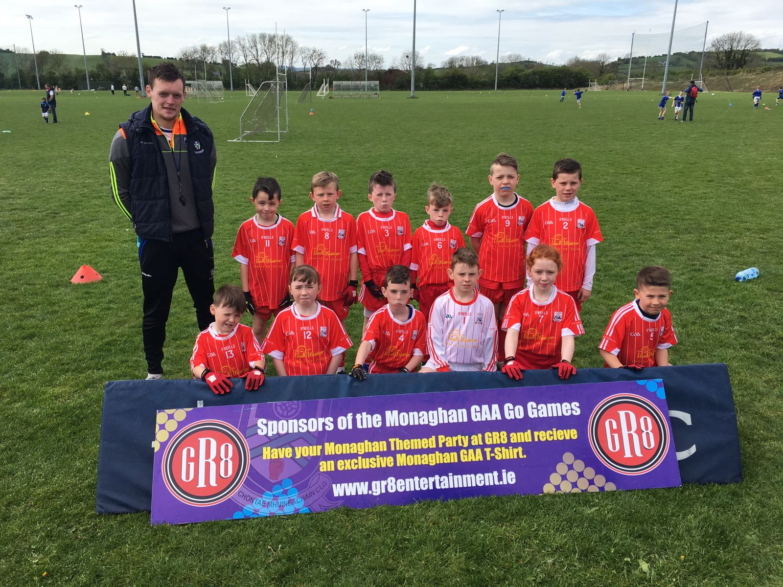 """All County """"GR8"""" Football U10 Go Games Blitz held in Cloghan"""