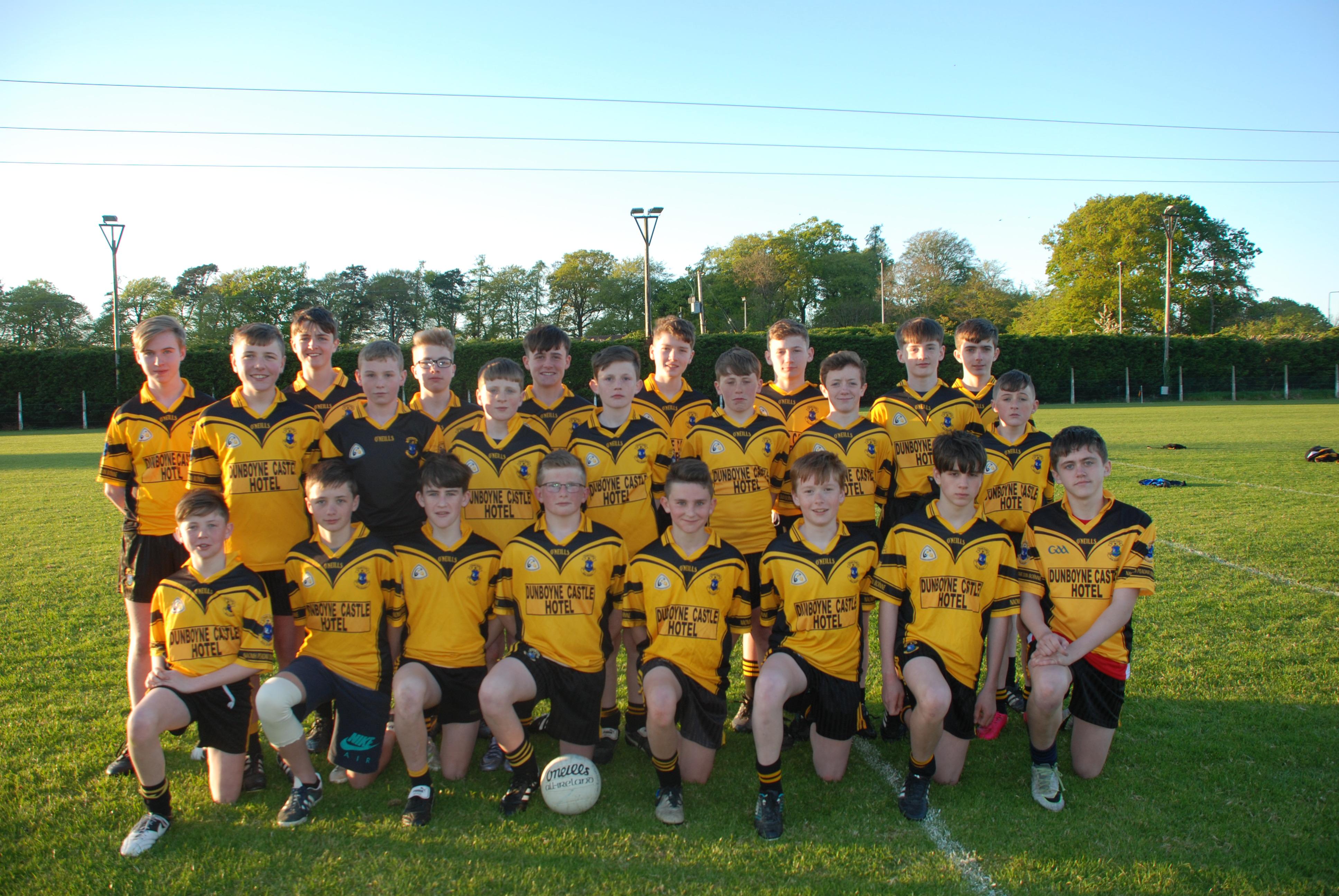 Drumhowan Welcomes Dunboyne Boys