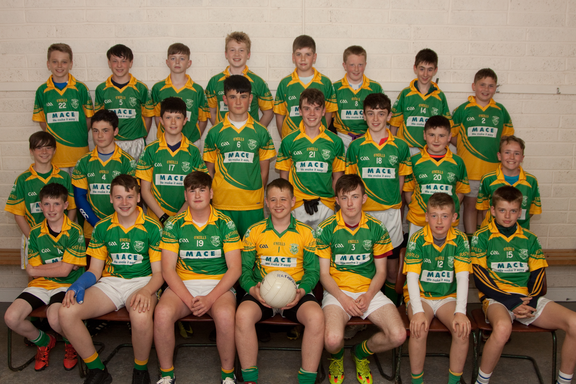 Inniskeen welcome Rathvilly  to Féile
