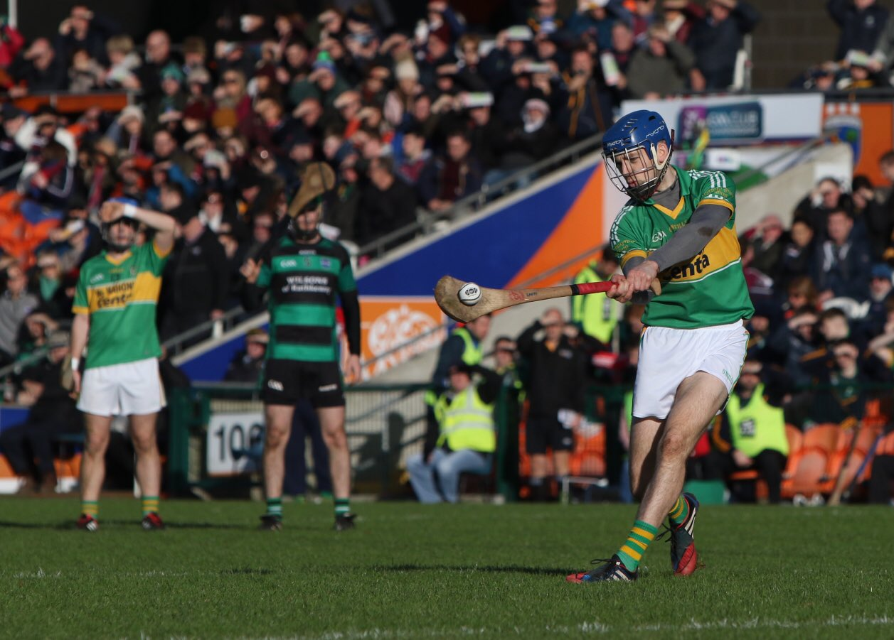 Blayney Hurlers  Win   Ulster Title in Injury Time
