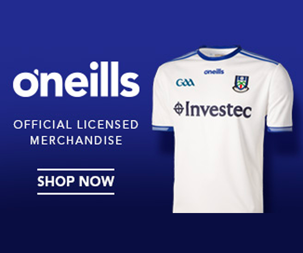 O'Neills Official Licensed Monaghan GAA Merchandise - New 2018 Monaghan Jersey