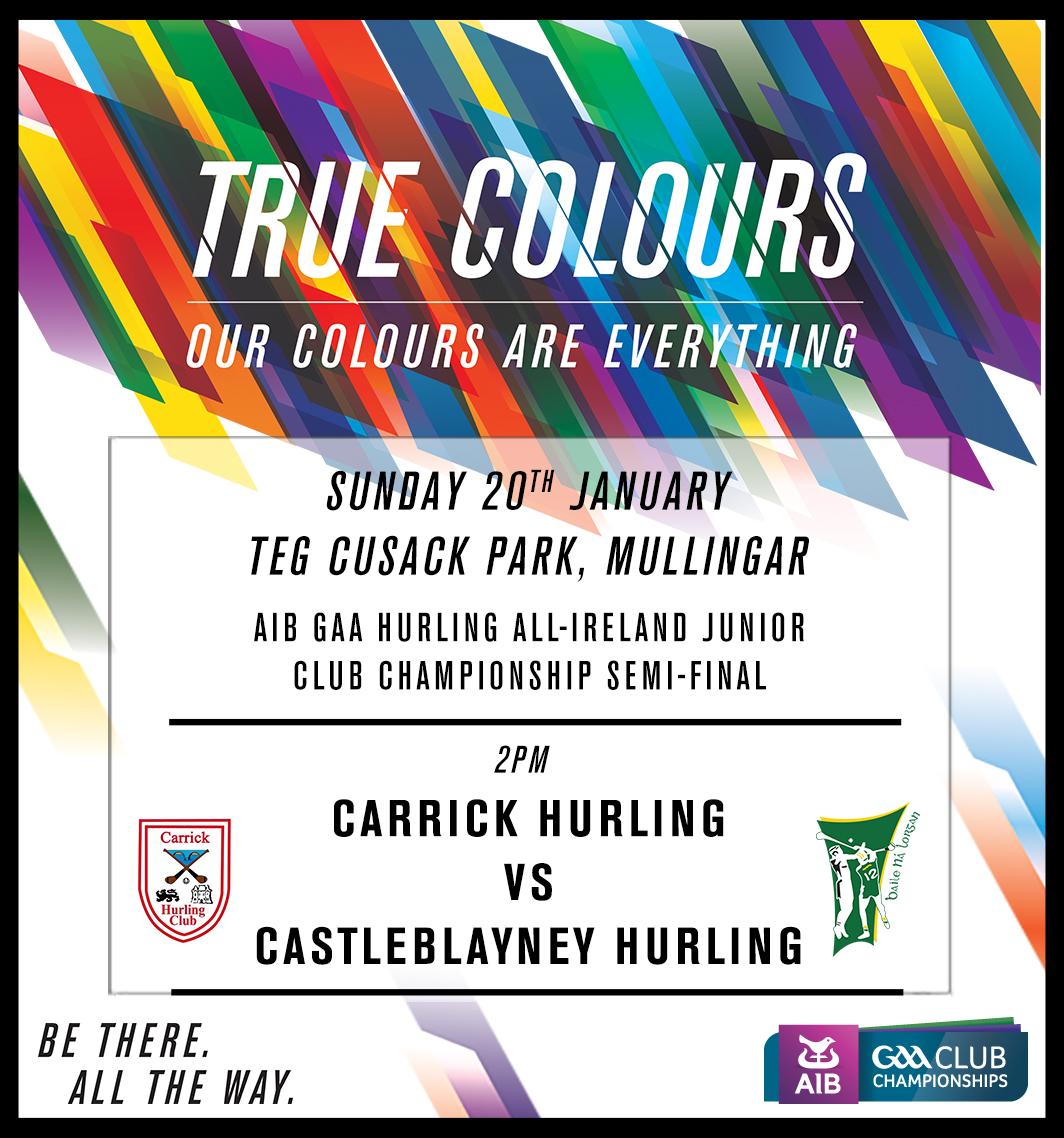 AIB GAA Hurling All-Ireland Junior Club Championship Semi-Final