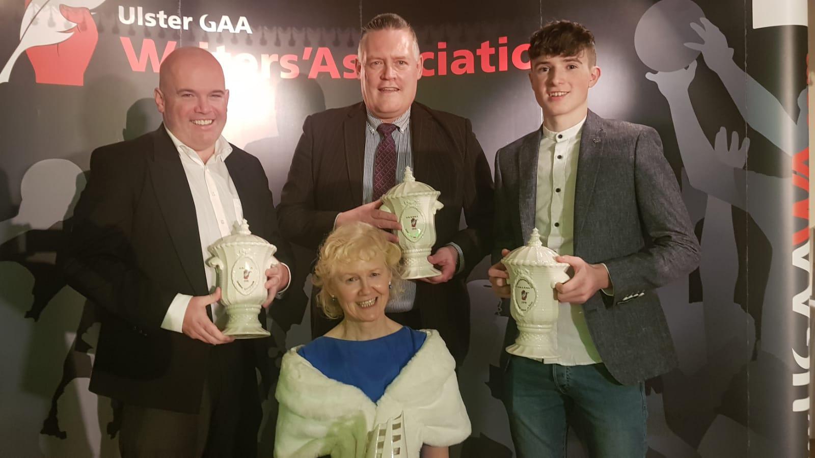 Ulster Writers' Annual Award  – Winners