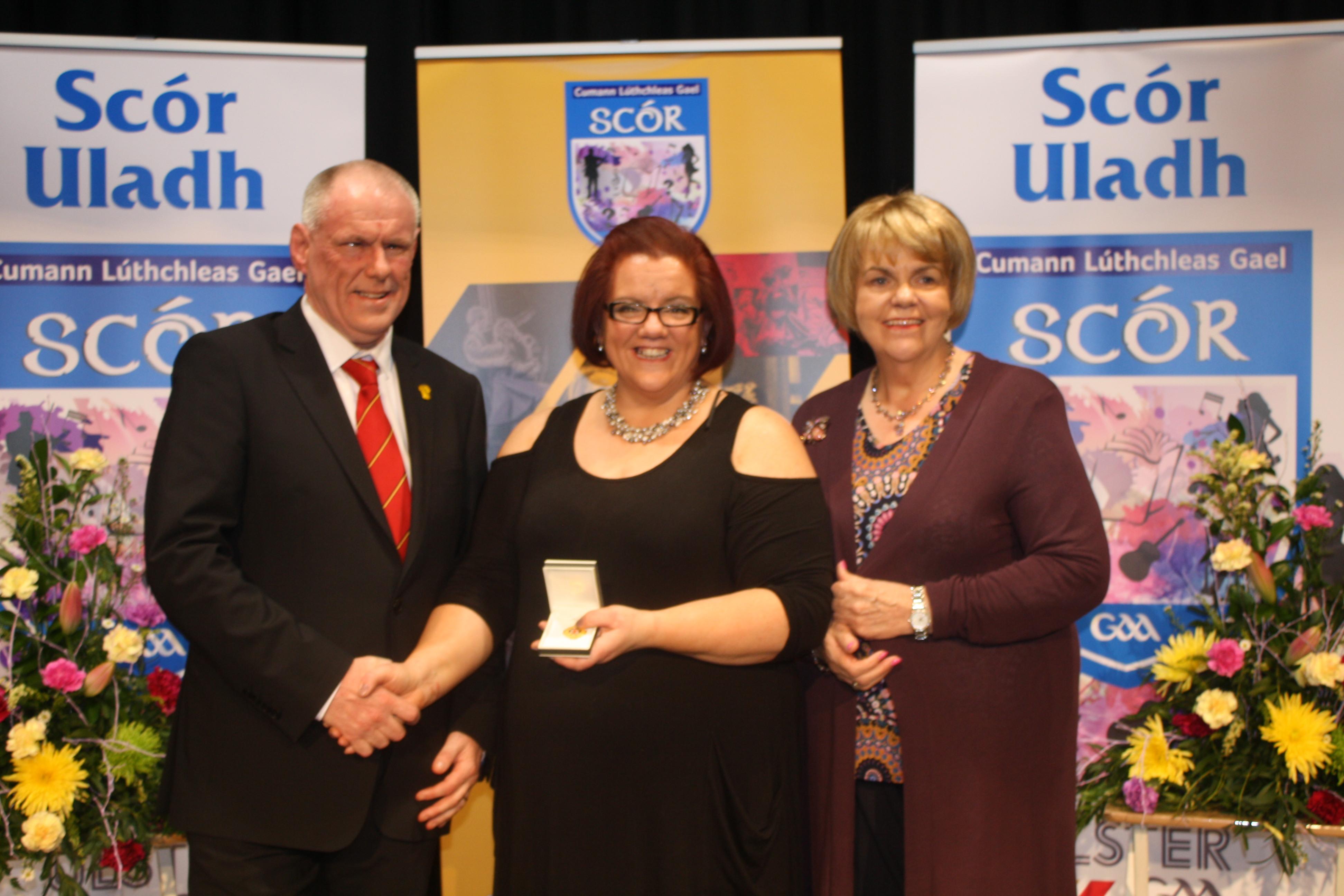Comhghairdeas Amelia – Ulster Winner