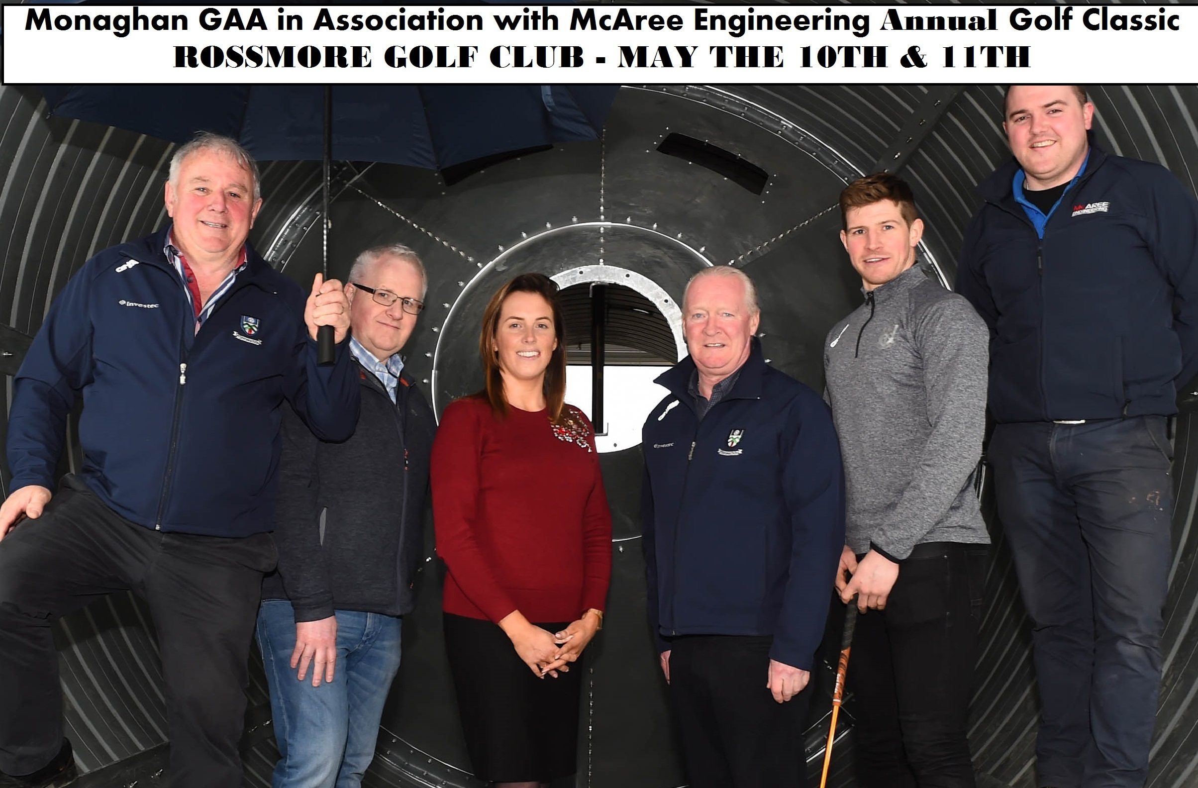 Monaghan GAA in Association with McAree Engineering Golf Classic – Next Weekend……