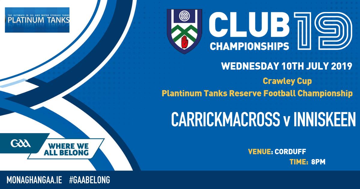 Platinum Tanks RFC – Crawley Cup Final – Tonight