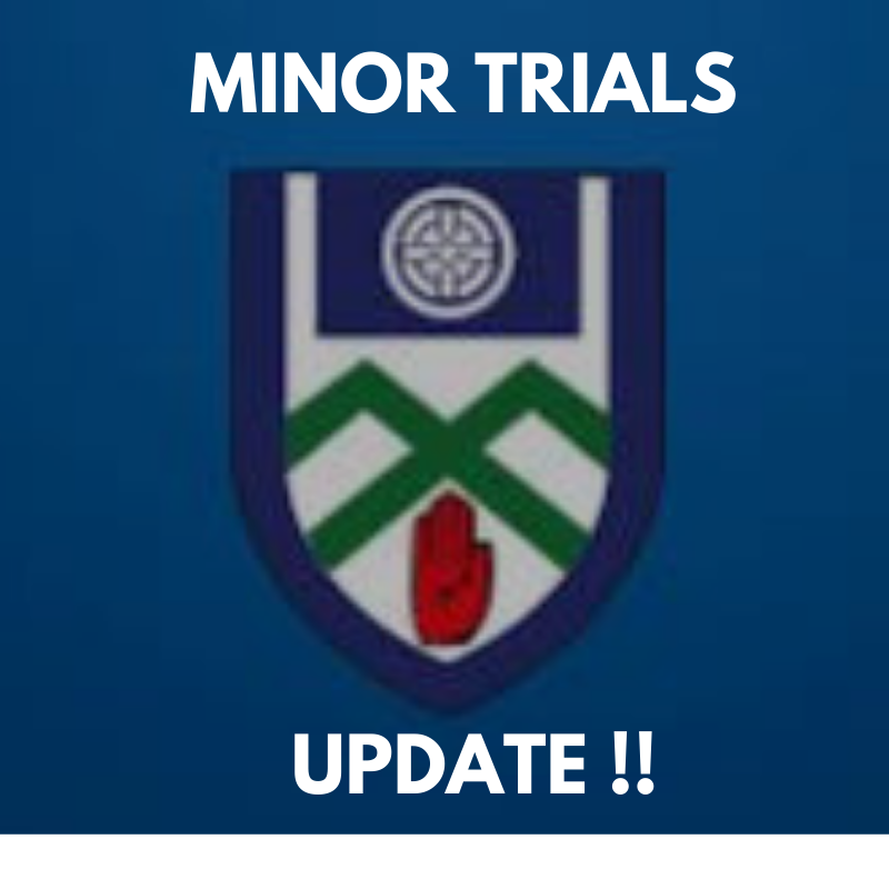 Important Minor Trials Update!!