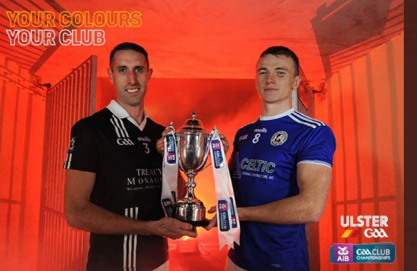 AIB Ulster Intermediate Club final  Magheracloone V Galbally – BUY EARLY AND SAVE!