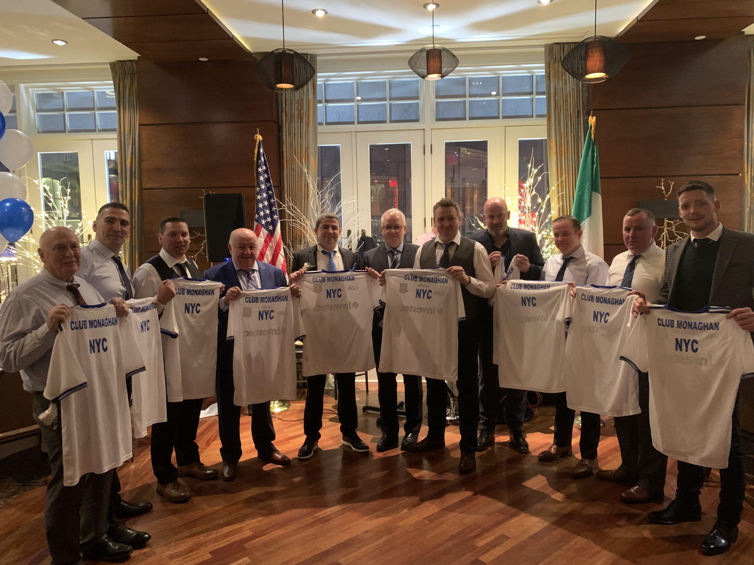 Monaghan GAA announce New 2nd Tier Sponsor Club Monaghan NYC.