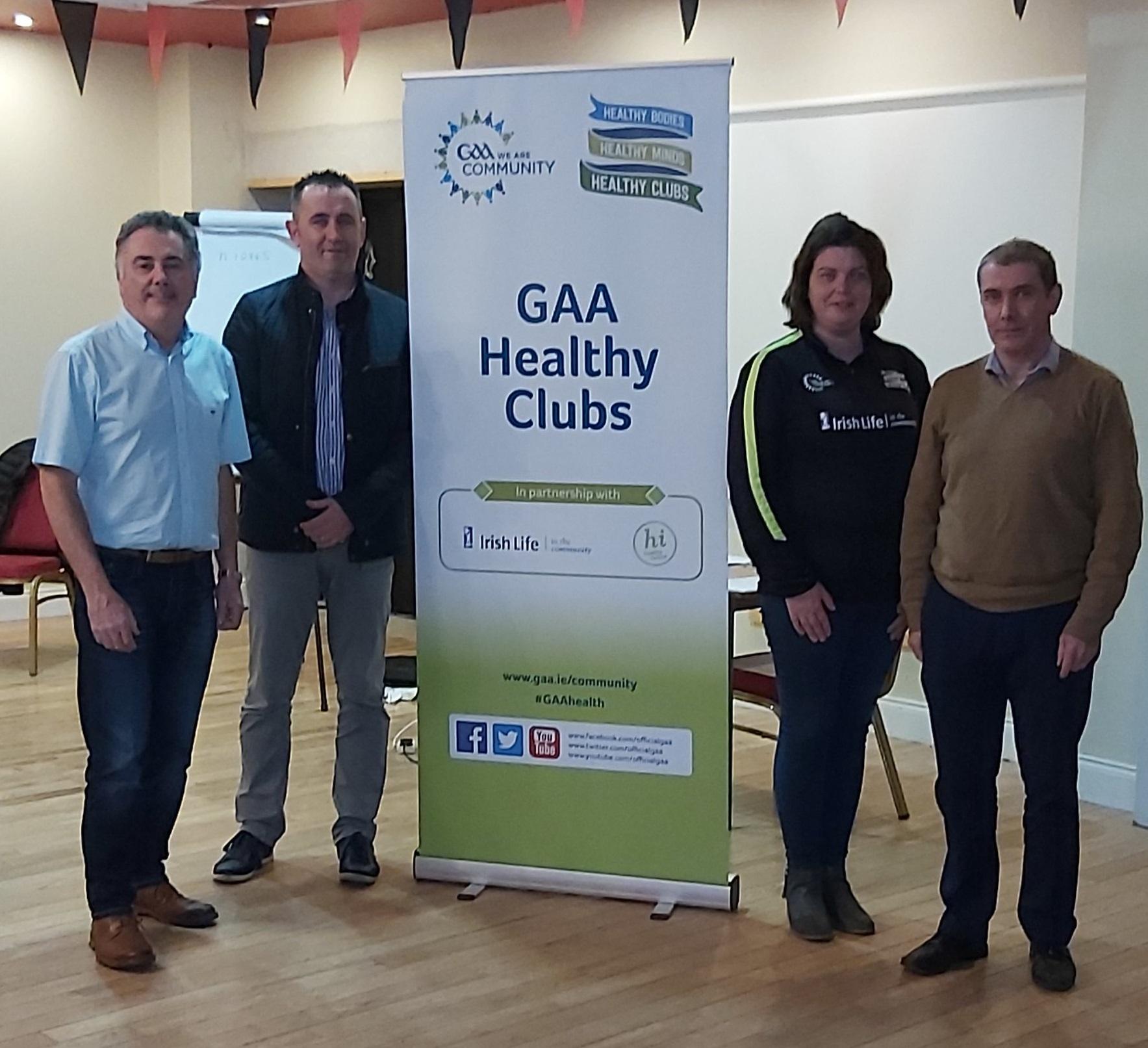 Monaghan GAA runs Safetalk Programme
