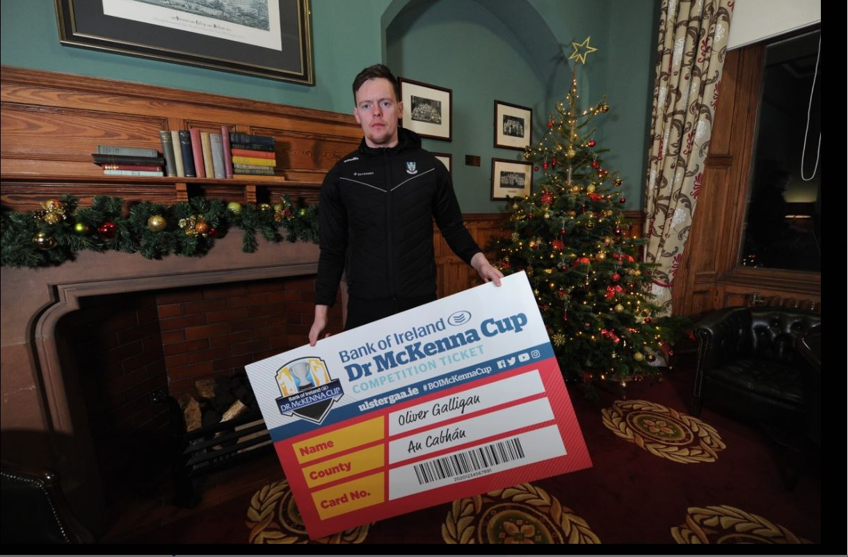 Bank of Ireland Dr. McKenna Cup competition ticket 2020 is now available for sale!!