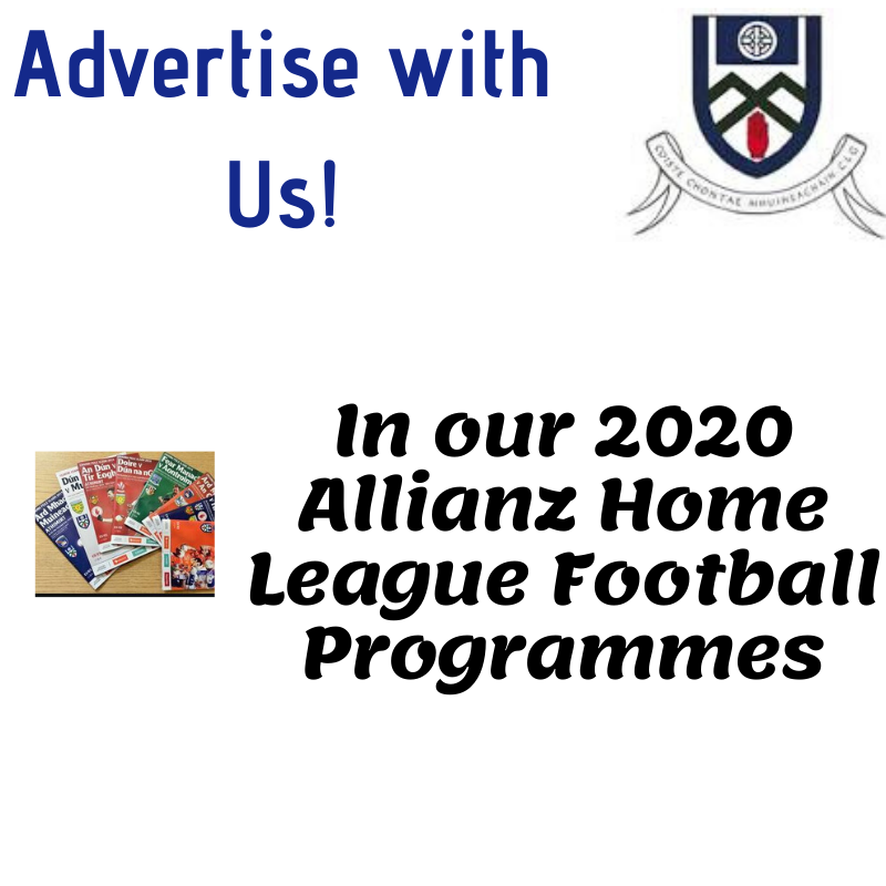 Advertise with Monaghan GAA