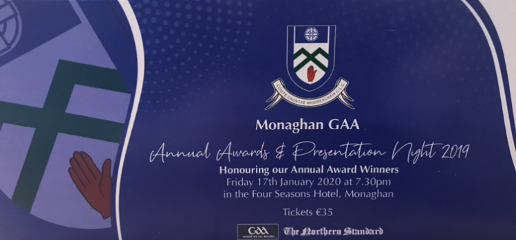 Tickets on Sale for our Annual Awards & Presentation Night