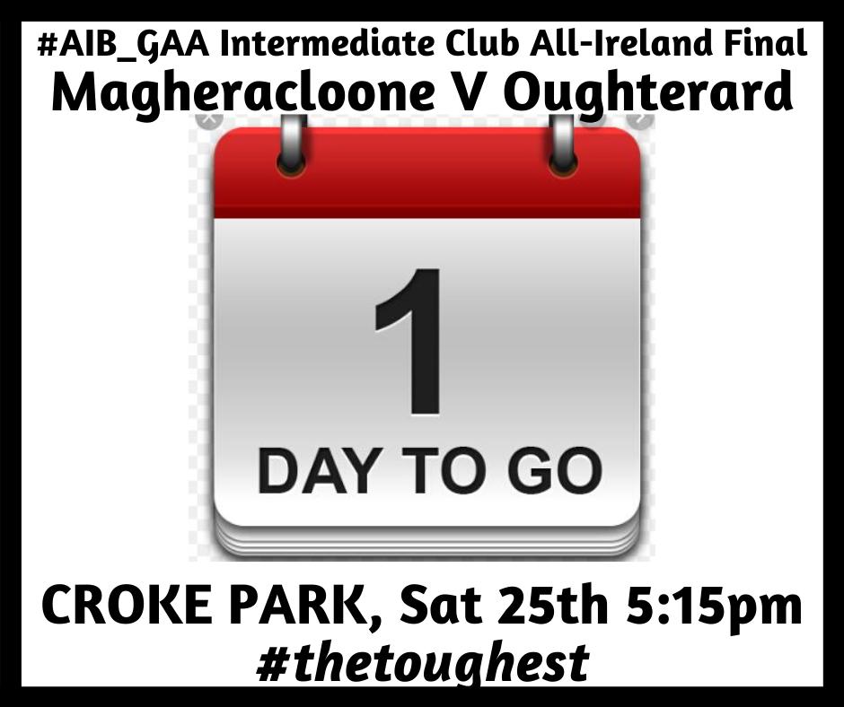 Magheracloone GAA are Croker Bound!!