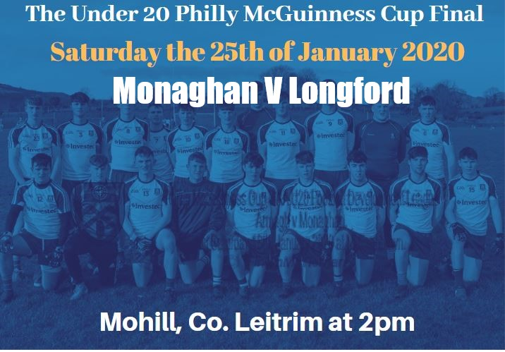 Philly McGuinness Cup Final – Monaghan V Longford