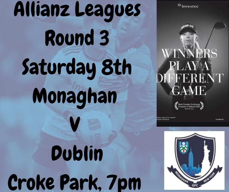 The very best of luck to our senior team tonight, Croke Park 7pm
