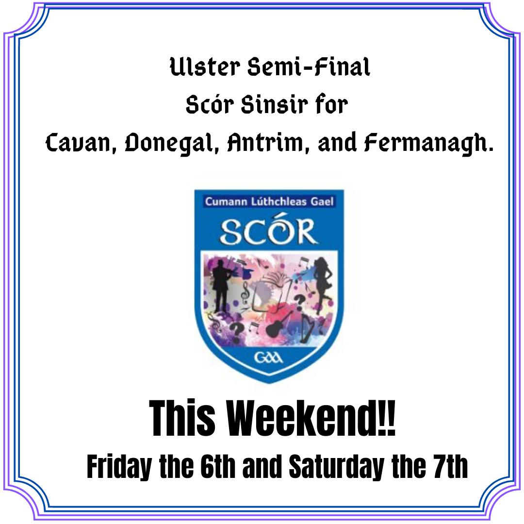 Ulster Scór Sinsir Semi-Final