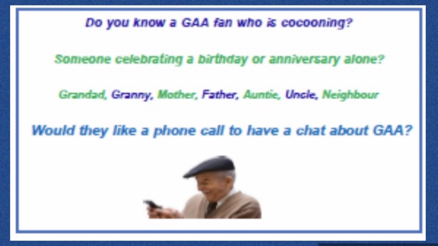 It's Good To Talk – GAA!