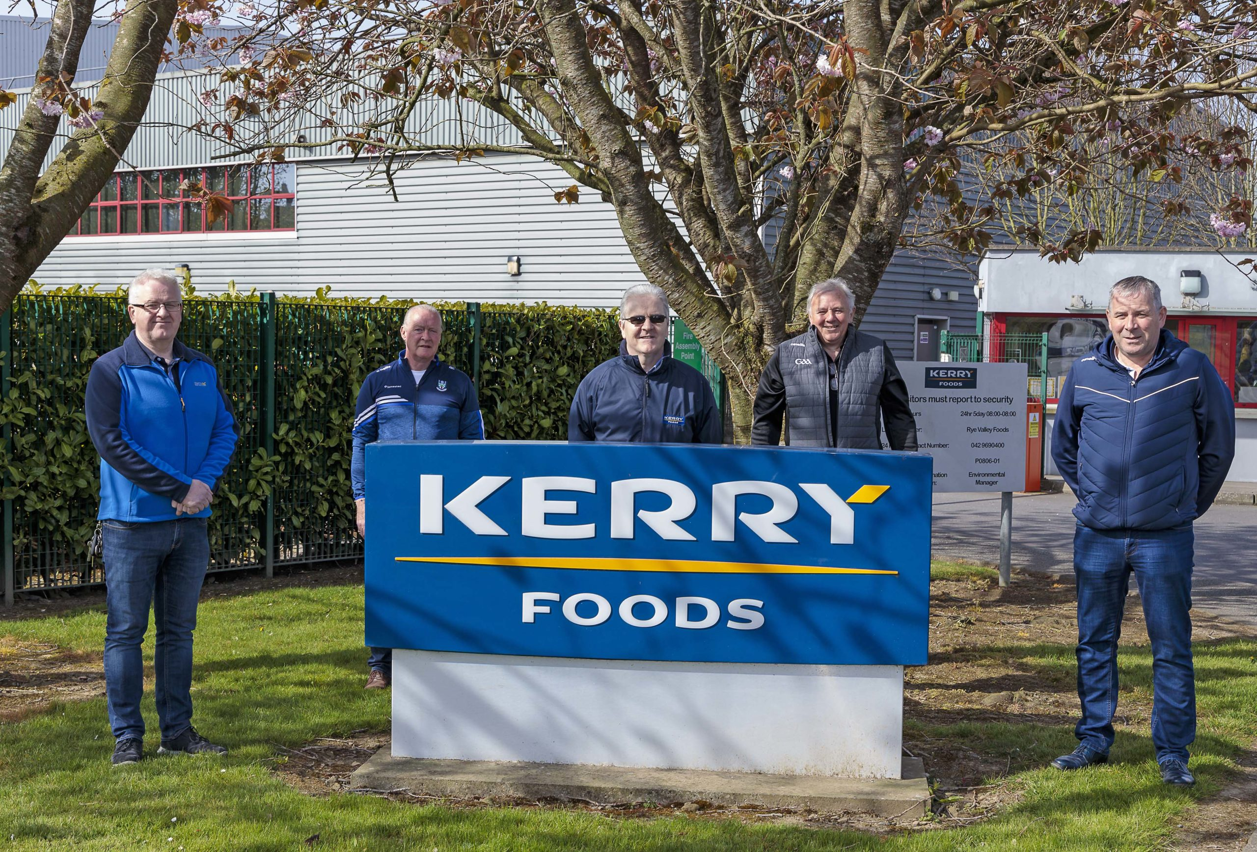 Kerry Foods & Monaghan GAA food share Delivery Day