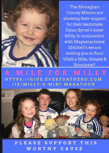 Monaghan Minors Fundraising for Millie