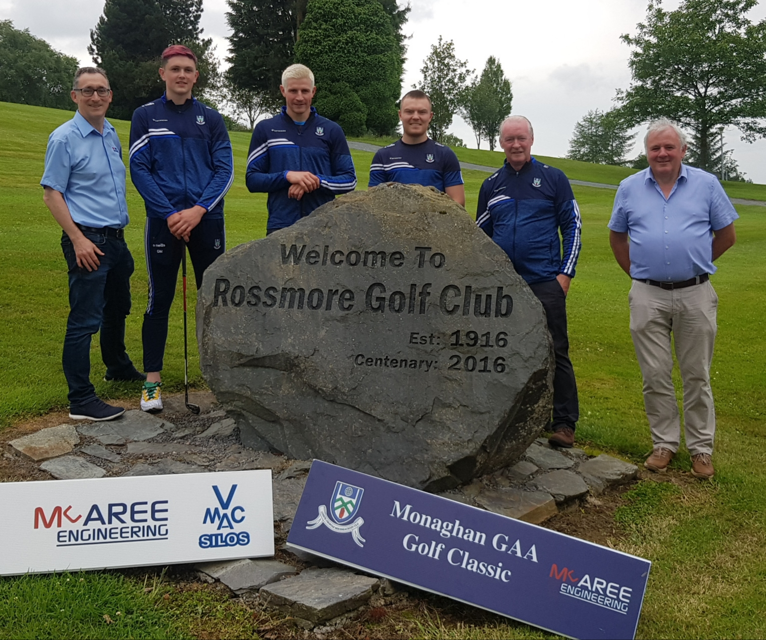 McAree Engineering Monaghan GAA Golf Classic Tee Times now available on the Rossmore Golf Club BRS System