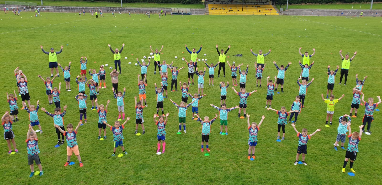Kelloggs Cul Camps get off to a great start, with week 2 of Camps in Castleblayney & Monaghan Harps