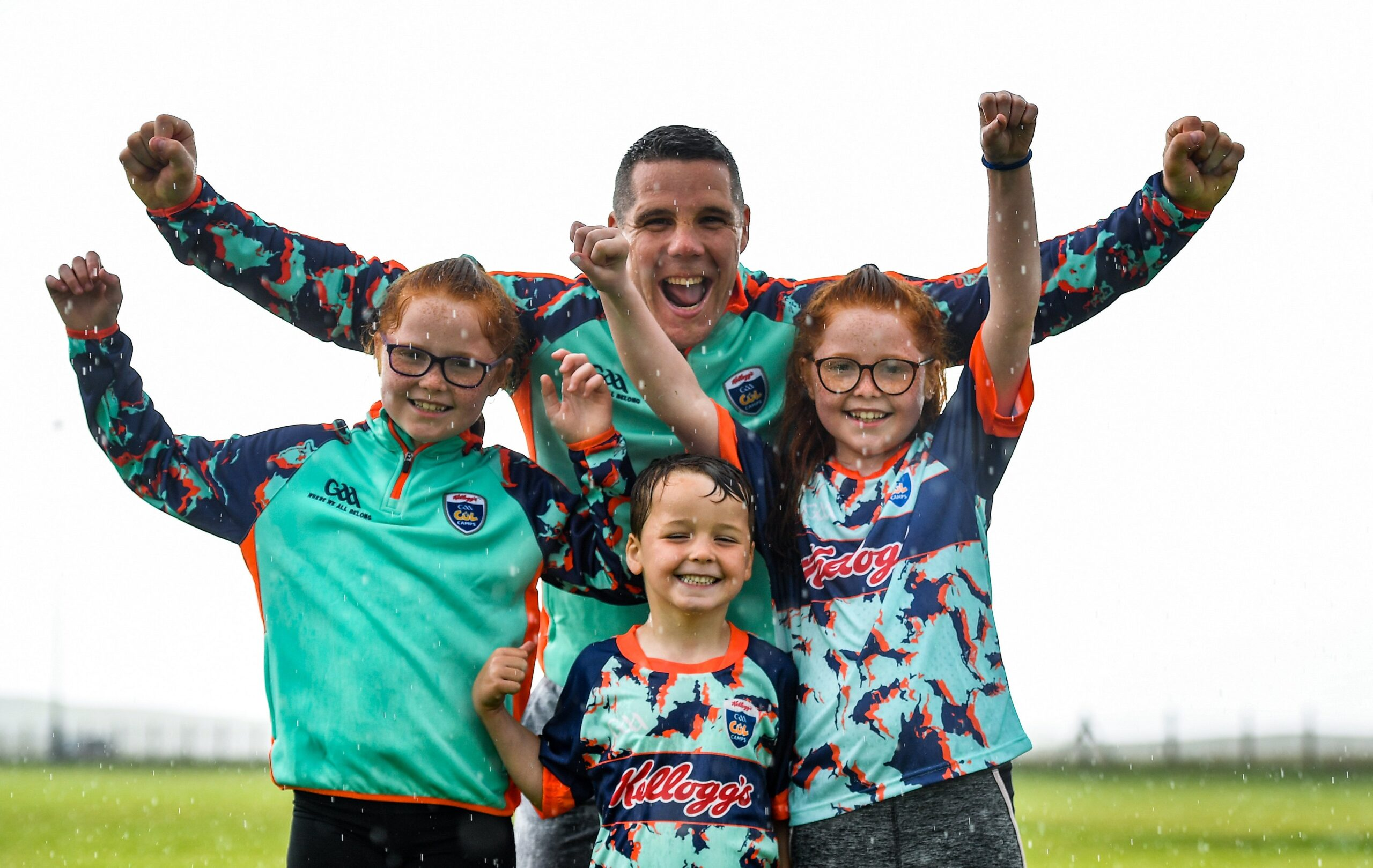 Kelloggs Cul Camps today in Carrick, Corduff & Clones are cancelled due to poor weather……