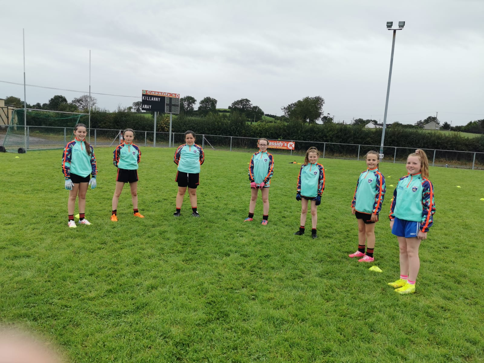 Killanny concludes Monaghan Kelloggs Cul Camps for this year…….