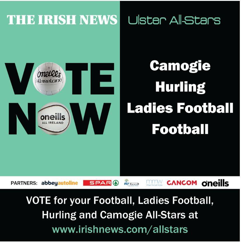 2020 Irish News All-stars – Vote Now