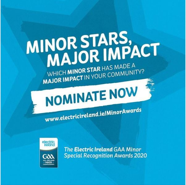 2020 Electric Ireland Minor Star Special Recognition Awards