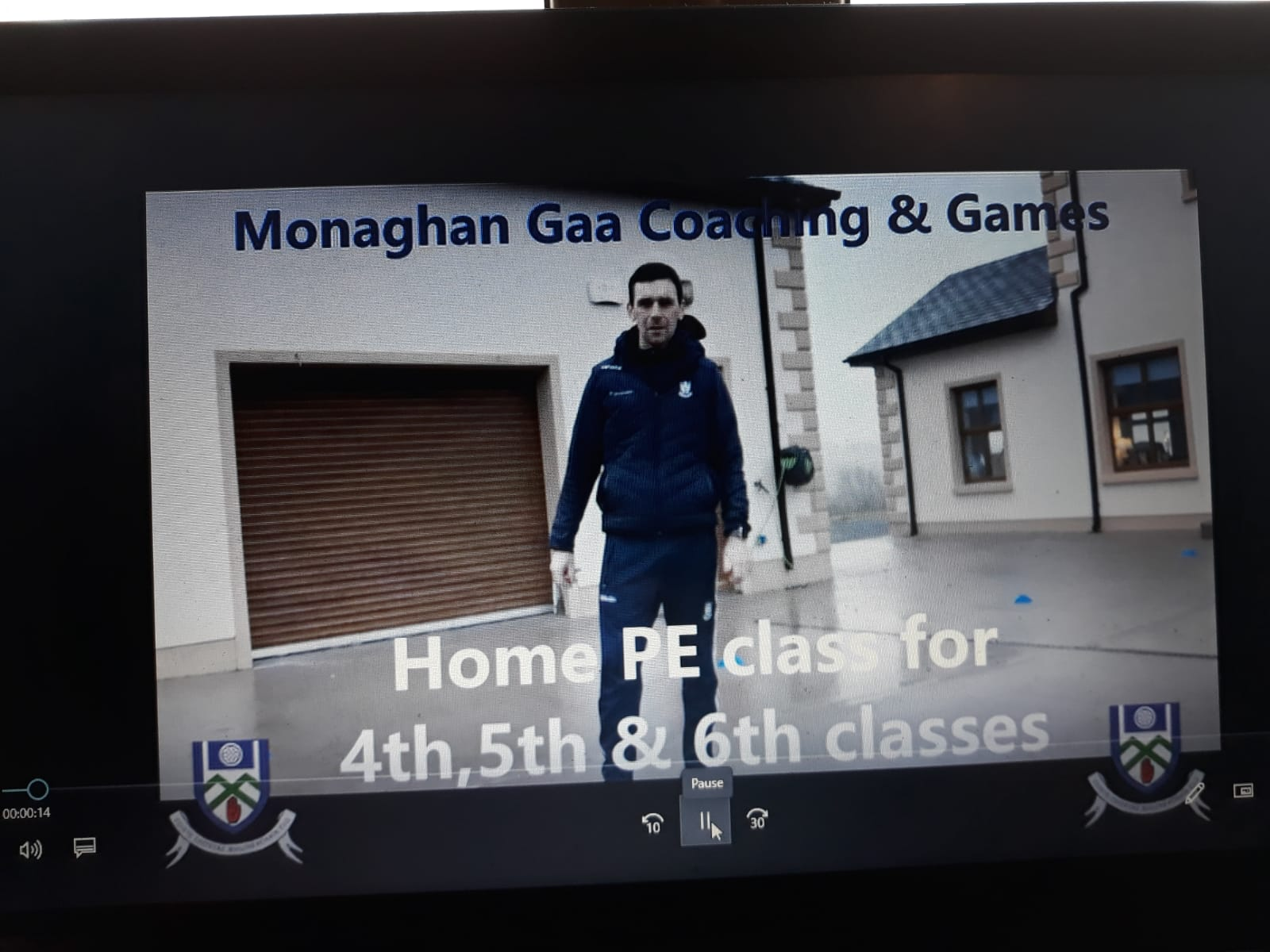 Monaghan Primary School Coaching Video's to Start this Monday……
