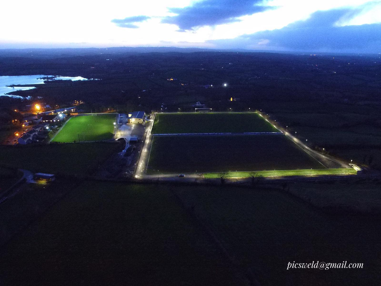 "Latton GAA Now ""Lights Up"" All Year Round"
