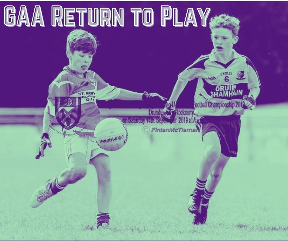 Return to Play for Juvenile Coaches – Larry McCarthy Uachtarán CLG