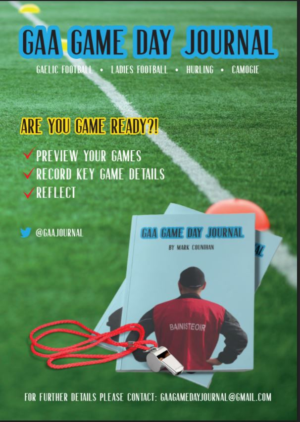 🚨GAA Game Day Journal – Now available 🚨 Are you game ready?