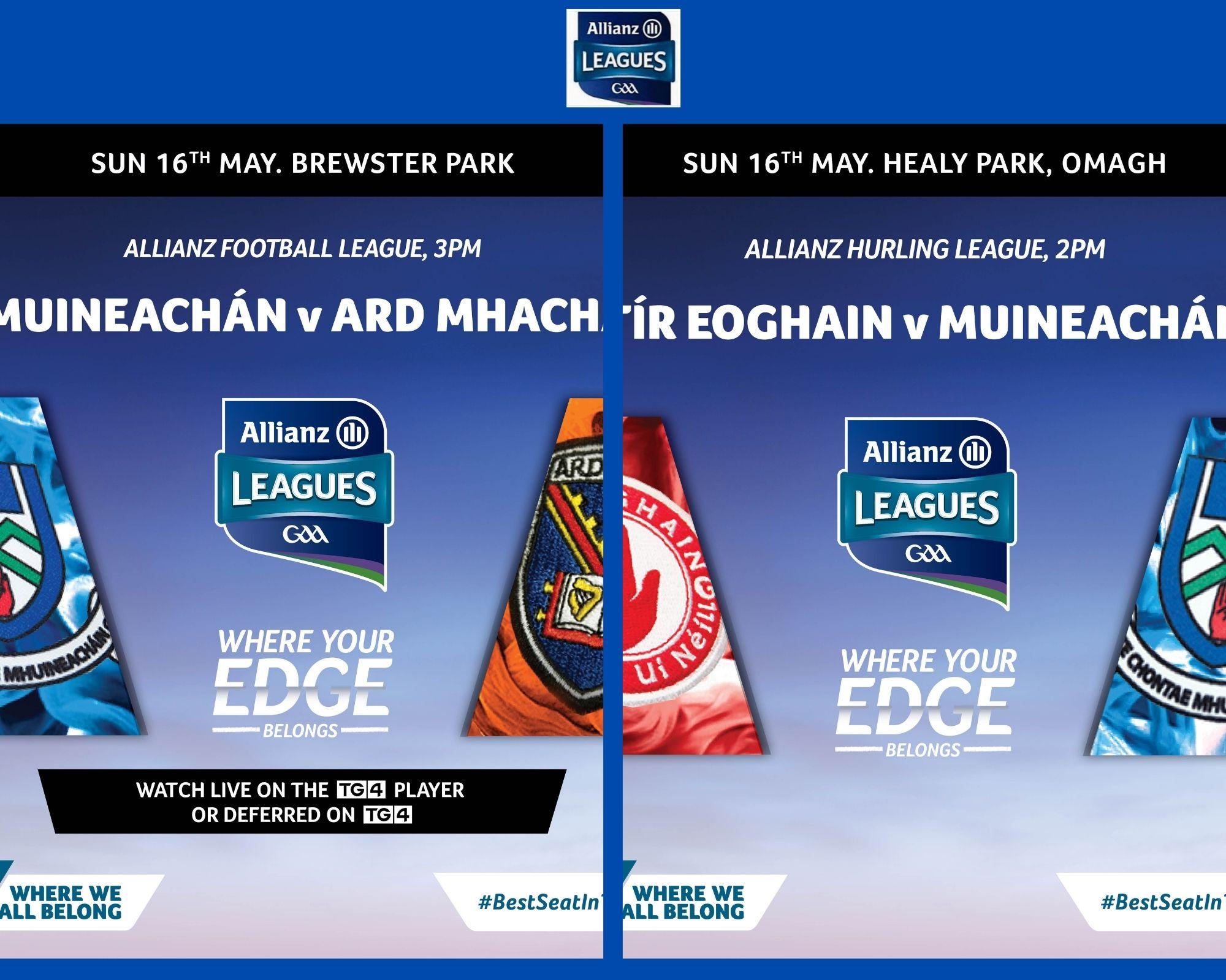 2021 Allianz Football & Hurling League returns this Sunday