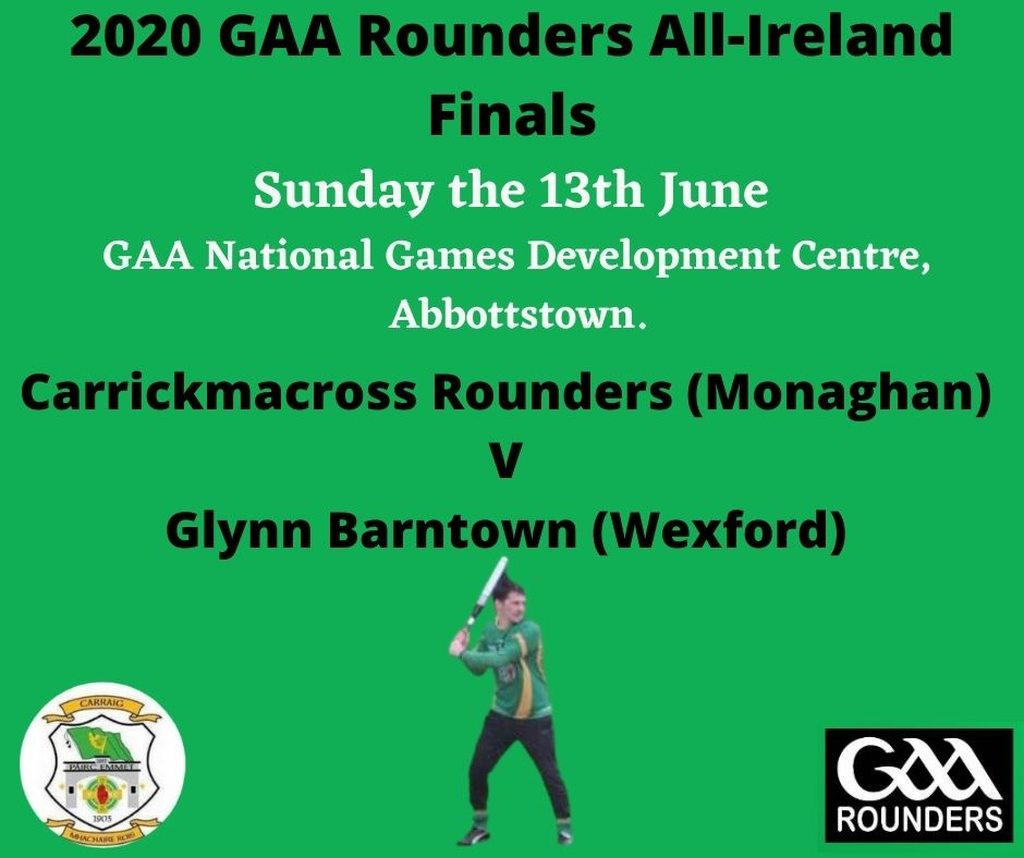 Save the date for the 2020 All Ireland Rounders final