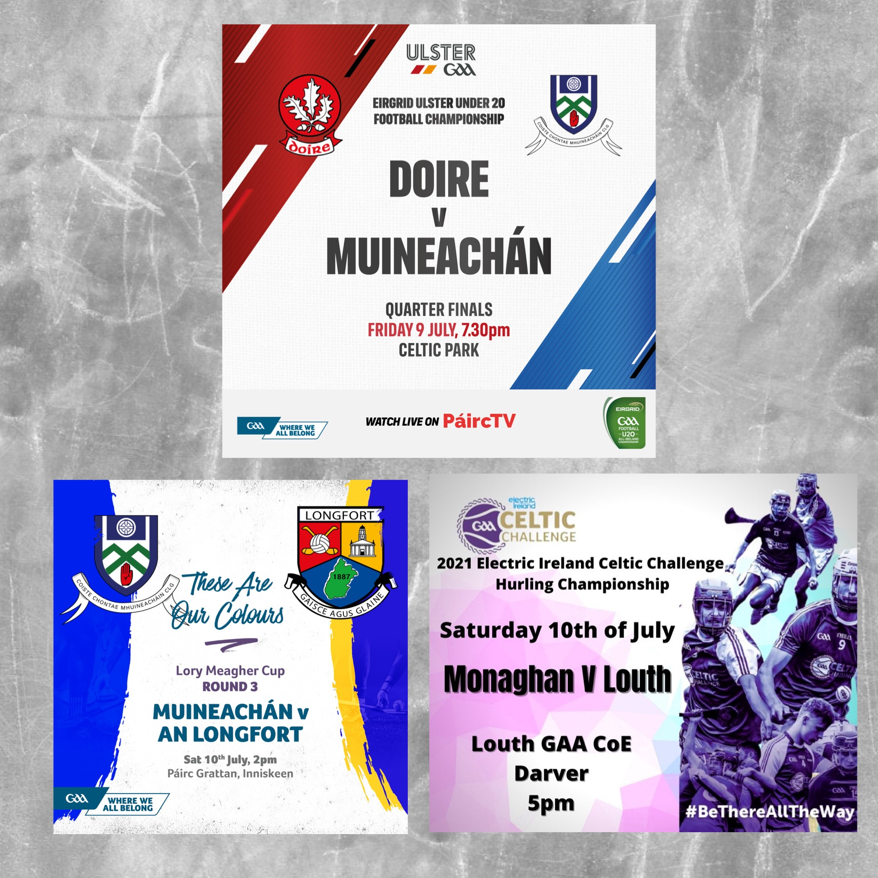 Another Action Packed Weekend of Monaghan GAA Football & Hurling