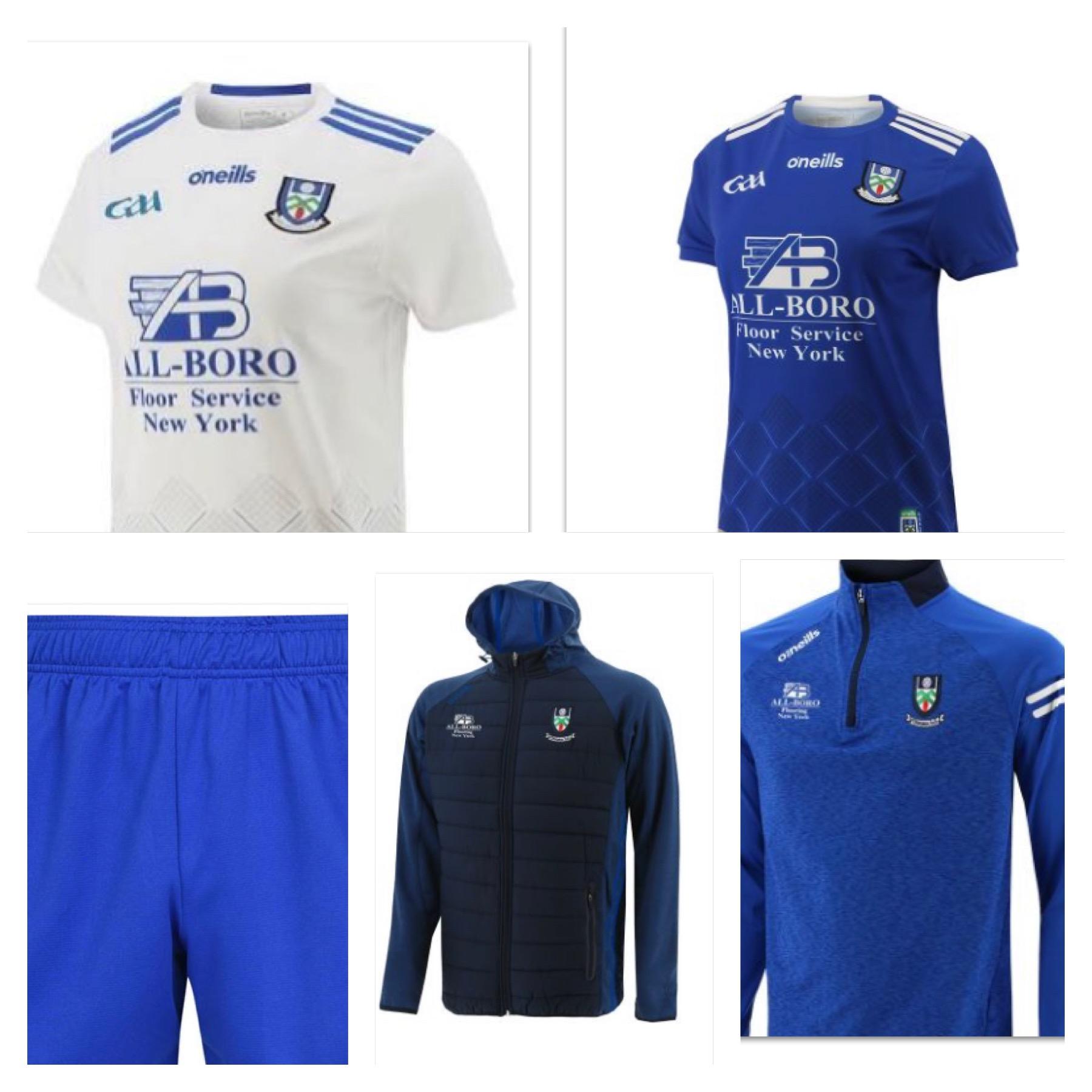 Club Monaghan Merchandise Update