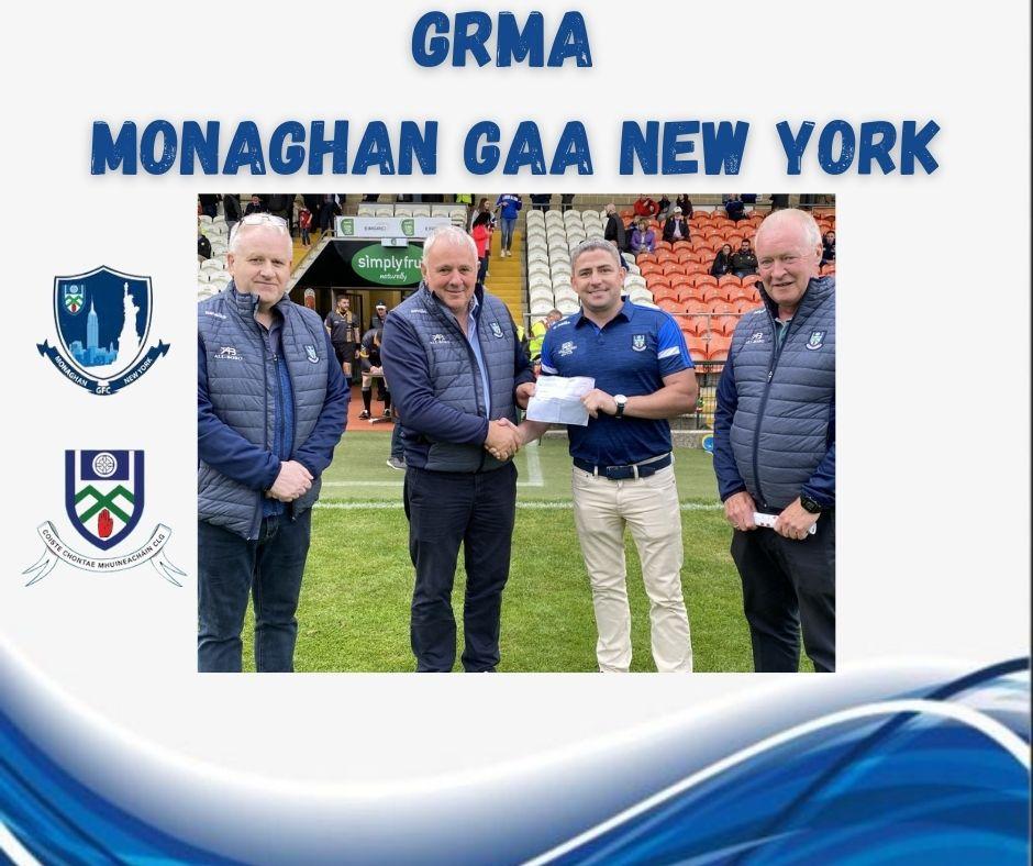 GRMA Monaghan GAA New York!