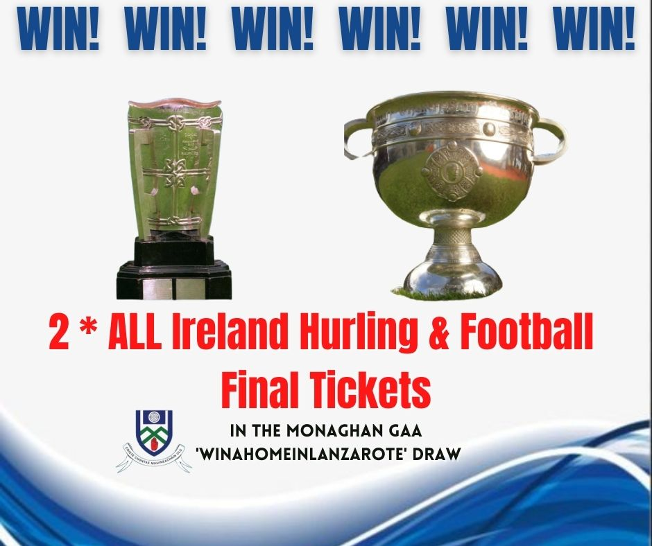 Do you need tickets for the 2021 Hurling and Football All Ireland Finals??