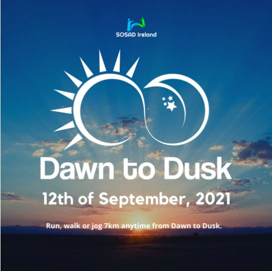 """SOSAD """"Dawn to Dusk"""" takes place on the 12th of September"""