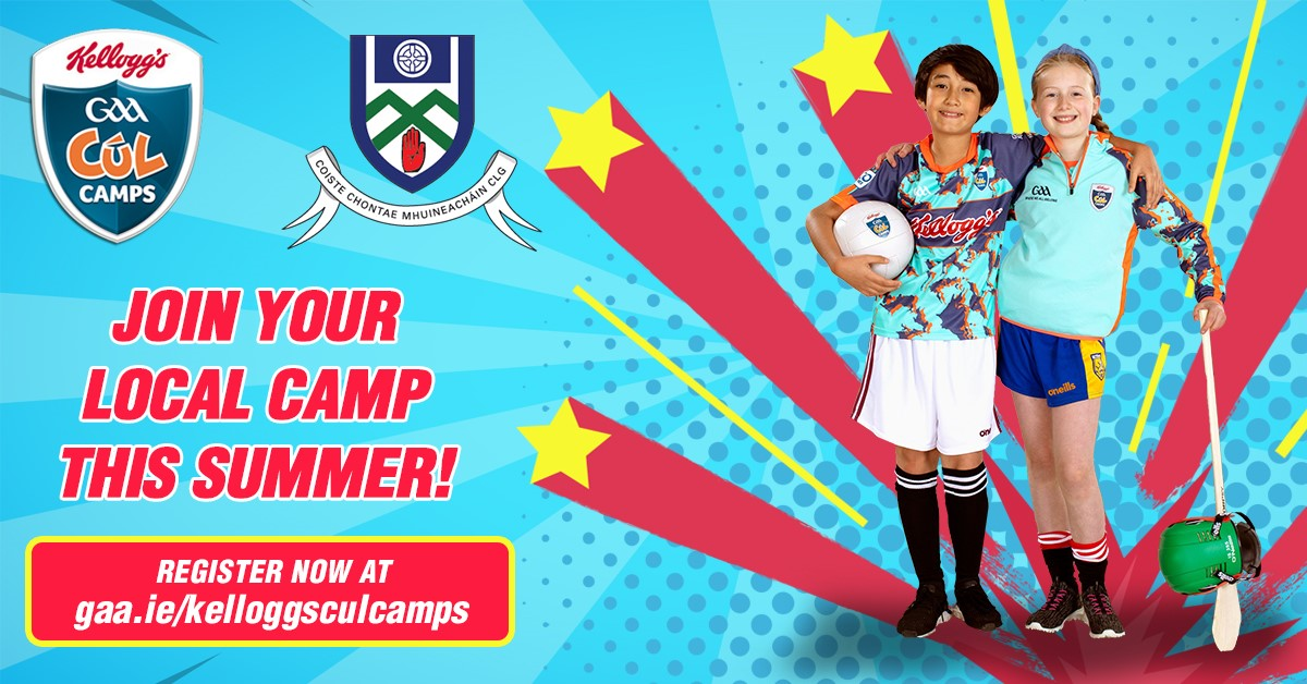 Places still available on our final Cul Camp next week in Latton. Registration closes 12PM Friday!