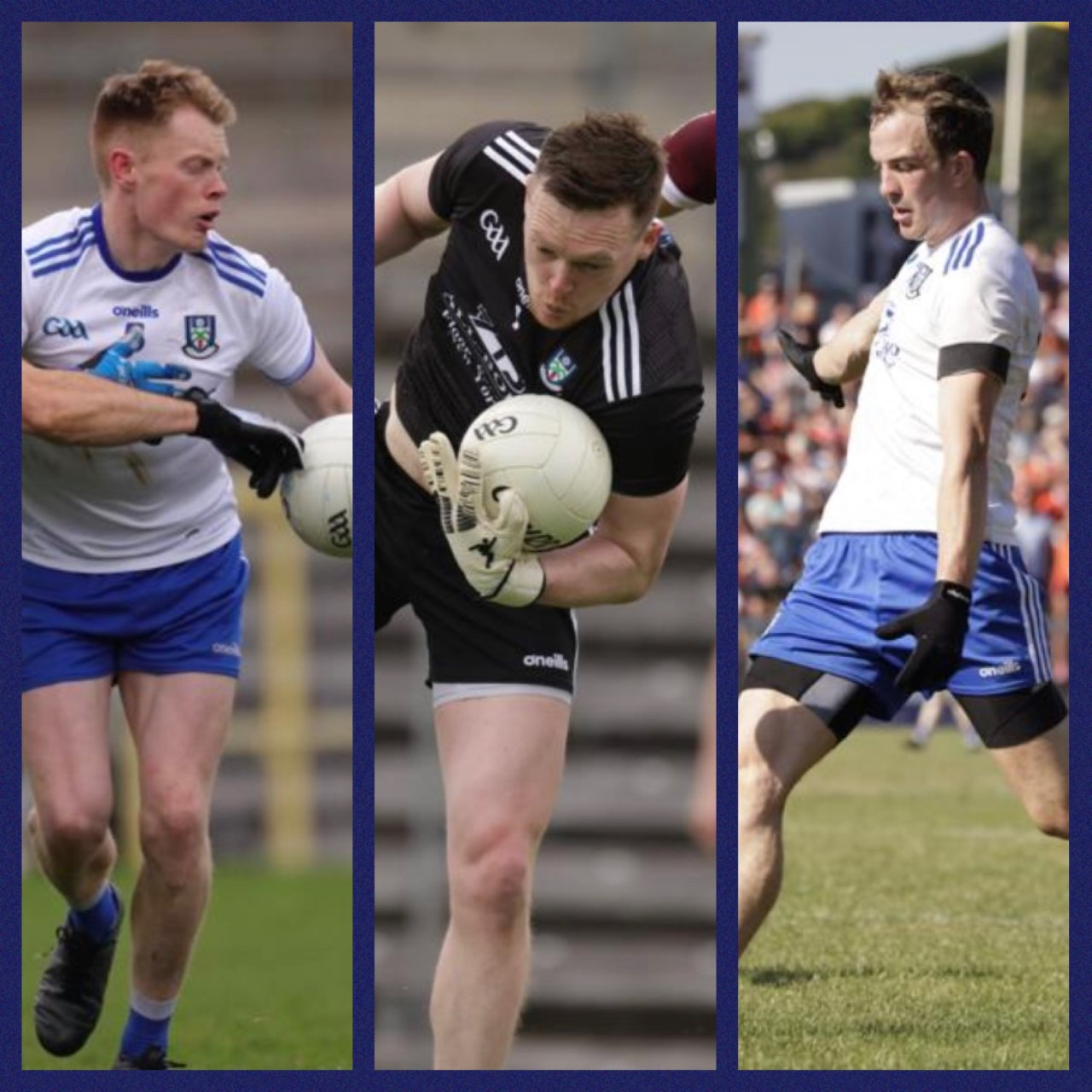Rory Beggan, Ryan McAnespie and Jack McCarron nominated for PwC All Stars Football Awards